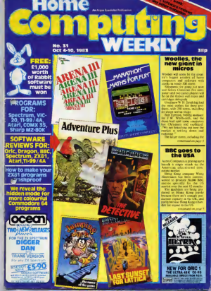 Home Computing Weekly Technology Magazine 031