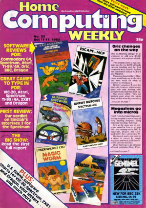 Home Computing Weekly Technology Magazine 032