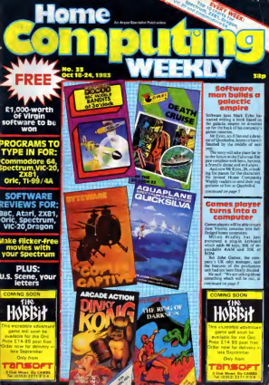 Home Computing Weekly Technology Magazine 033