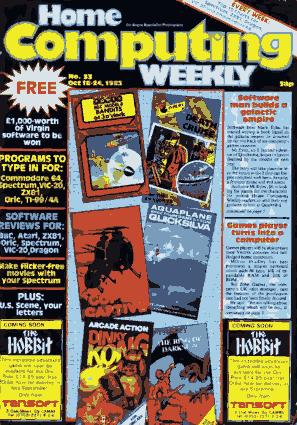 Free Download PDF Books, Home Computing Weekly Technology Magazine 033