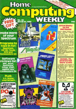 Home Computing Weekly Technology Magazine 034