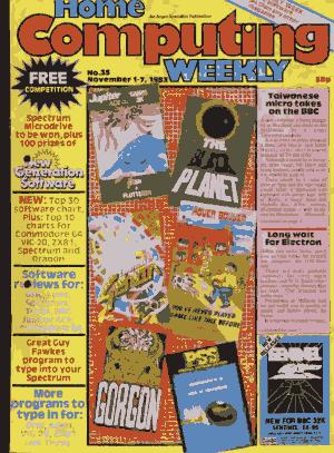 Free Download PDF Books, Home Computing Weekly Technology Magazine 035