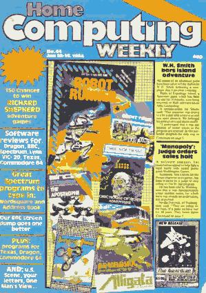 Home Computing Weekly Technology Magazine 044