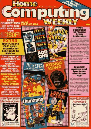 Free Download PDF Books, Home Computing Weekly Technology Magazine 050