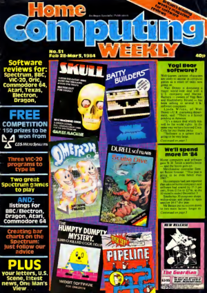 Home Computing Weekly Technology Magazine 051
