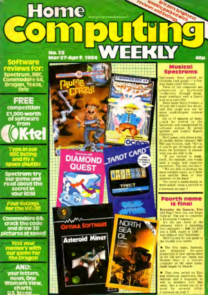 Home Computing Weekly Technology Magazine 055