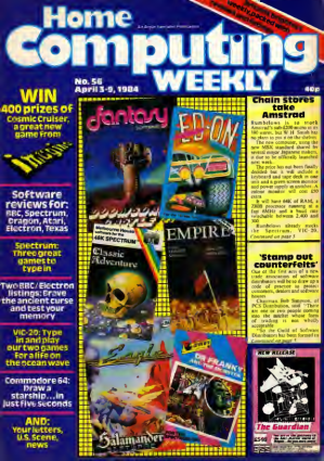 Home Computing Weekly Technology Magazine 056
