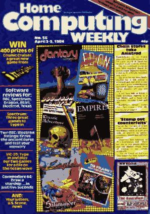 Home Computing Weekly Technology Magazine 056