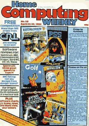 Free Download PDF Books, Home Computing Weekly Technology Magazine 059