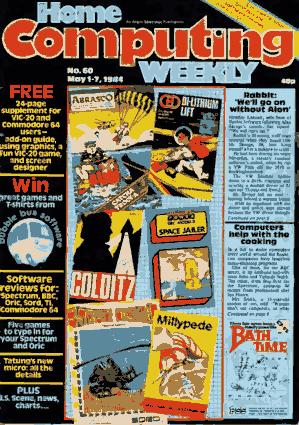 Free Download PDF Books, Home Computing Weekly Technology Magazine 060