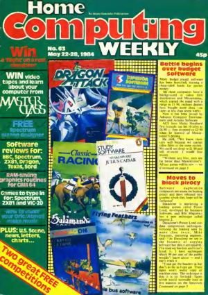 Home Computing Weekly Technology Magazine 063
