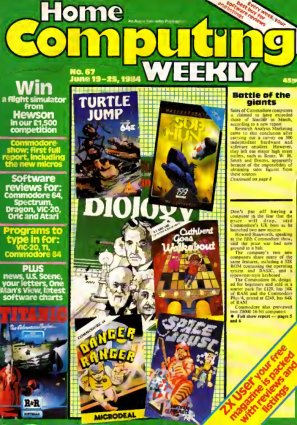 Free Download PDF Books, Home Computing Weekly Technology Magazine 067