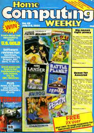 Home Computing Weekly Technology Magazine 069