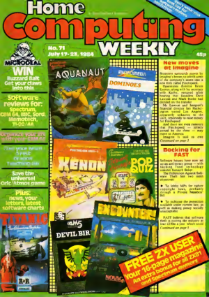 Home Computing Weekly Technology Magazine 071