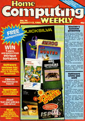Home Computing Weekly Technology Magazine 074