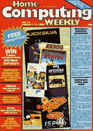 Home Computing Weekly Technology Magazine 074
