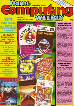 Home Computing Weekly Technology Magazine 075