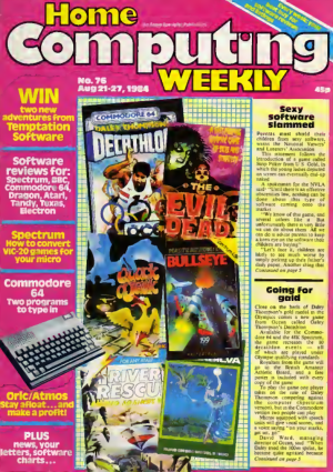 Home Computing Weekly Technology Magazine 076