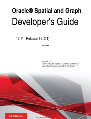Oracle Spatial And Graph Developers Guide