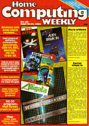 Home Computing Weekly Technology Magazine 080