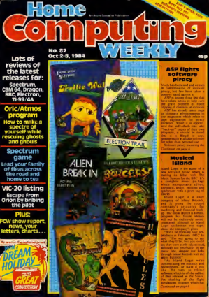 Free Download PDF Books, Home Computing Weekly Technology Magazine 082