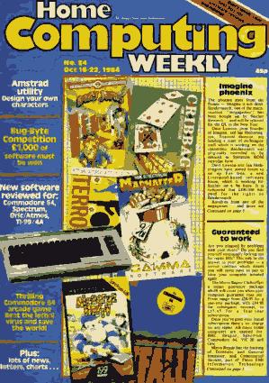 Free Download PDF Books, Home Computing Weekly Technology Magazine 084
