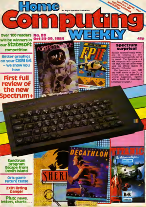 Home Computing Weekly Technology Magazine 085