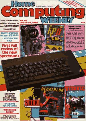 Home Computing Weekly Technology Magazine 085