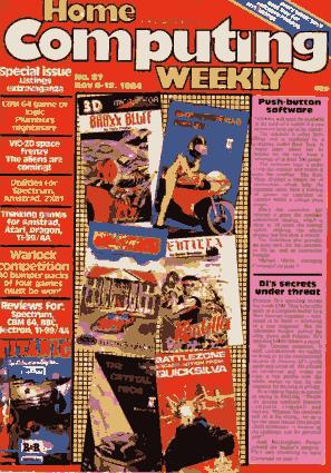 Free Download PDF Books, Home Computing Weekly Technology Magazine 087