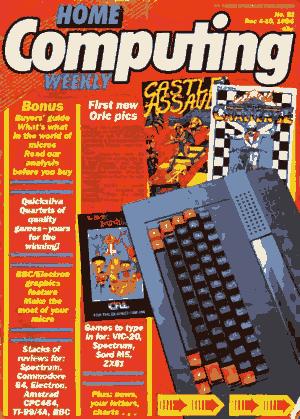 Free Download PDF Books, Home Computing Weekly Technology Magazine 091