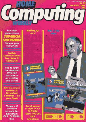 Free Download PDF Books, Home Computing Weekly Technology Magazine 095