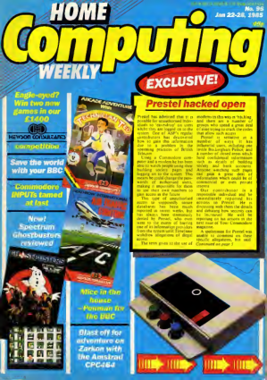 Home Computing Weekly Technology Magazine 096
