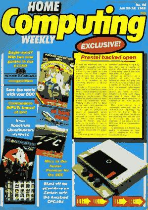 Free Download PDF Books, Home Computing Weekly Technology Magazine 096