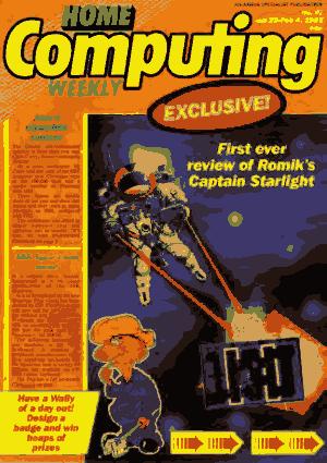 Free Download PDF Books, Home Computing Weekly Technology Magazine 097