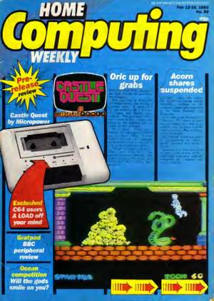 Home Computing Weekly Technology Magazine 099