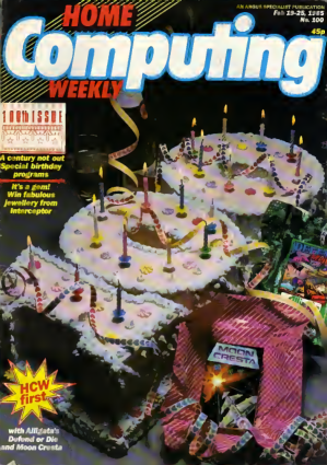 Home Computing Weekly Technology Magazine 100