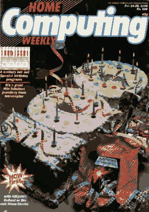 Home Computing Weekly Technology Magazine 100