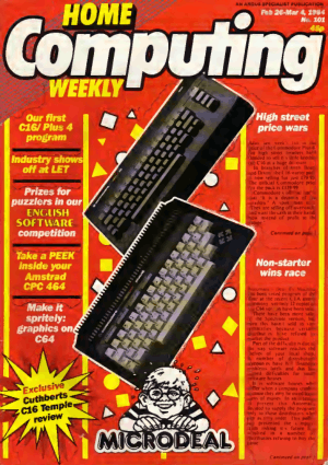 Home Computing Weekly Technology Magazine 101