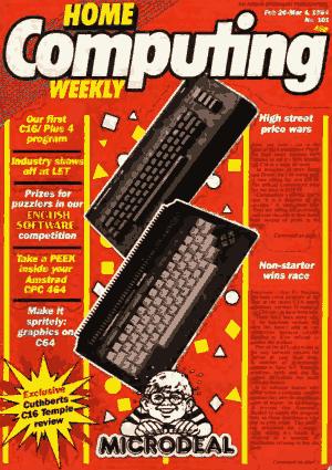 Home Computing Weekly Technology Magazine 101