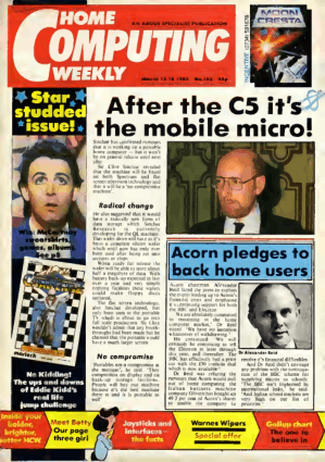 Home Computing Weekly Technology Magazine 103