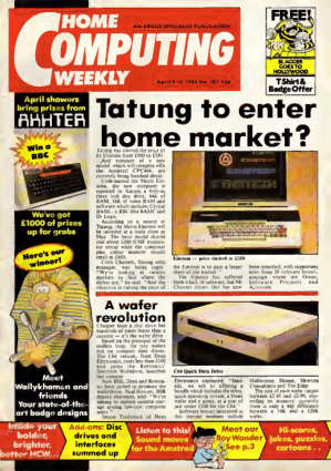 Home Computing Weekly Technology Magazine 107
