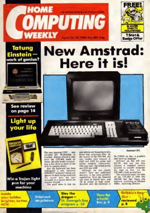 Home Computing Weekly Technology Magazine 109