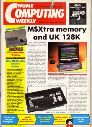 Home Computing Weekly Technology Magazine 114