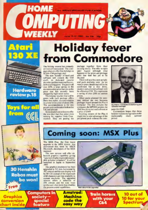 Free Download PDF Books, Home Computing Weekly Technology Magazine 116