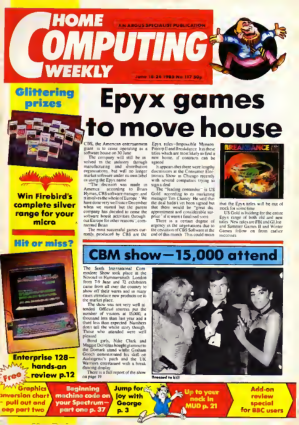 Home Computing Weekly Technology Magazine 117