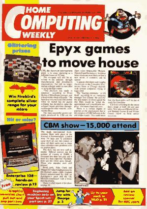 Free Download PDF Books, Home Computing Weekly Technology Magazine 117