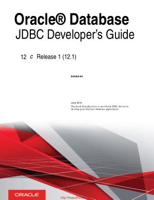 Oracle Database JDBC Developers Guide