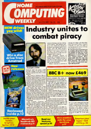 Home Computing Weekly Technology Magazine 119