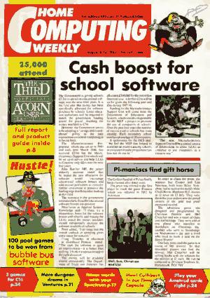 Free Download PDF Books, Home Computing Weekly Technology Magazine 124