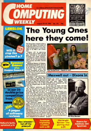 Free Download PDF Books, Home Computing Weekly Technology Magazine 126